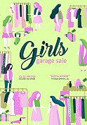 Girls garage sale