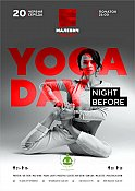 Вечірка «Night Before Yoga Day»